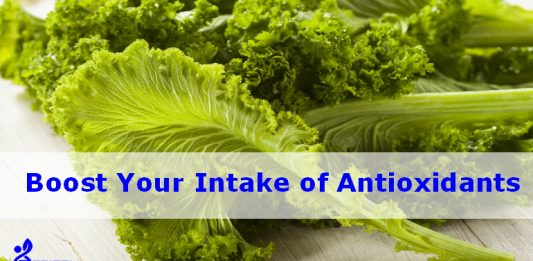 Boost your intake of antioxidants
