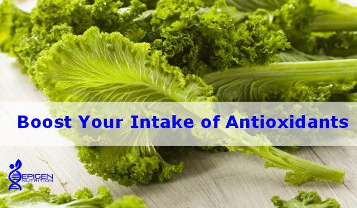 Boost your intake of antioxidants